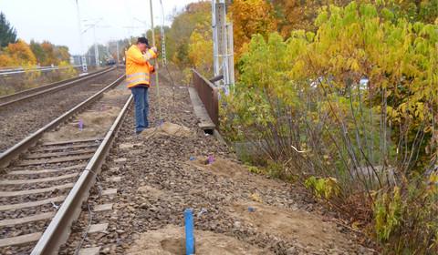 Bohrlochradarmessungen zur Kampfmittelortung an einer Bahnstrecke